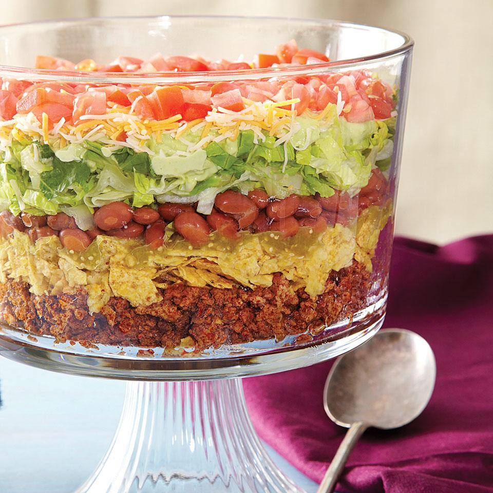 8-Layer Taco Salad EatingWell Test Kitchen
