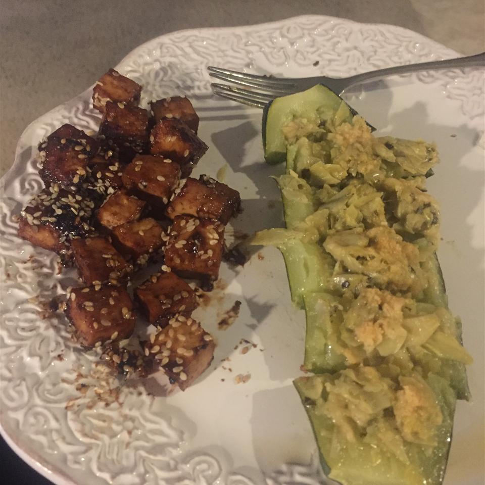Baked Tofu Bites Robin Woolson Abrams