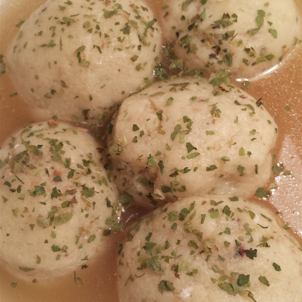Fluffy Matzo Balls image