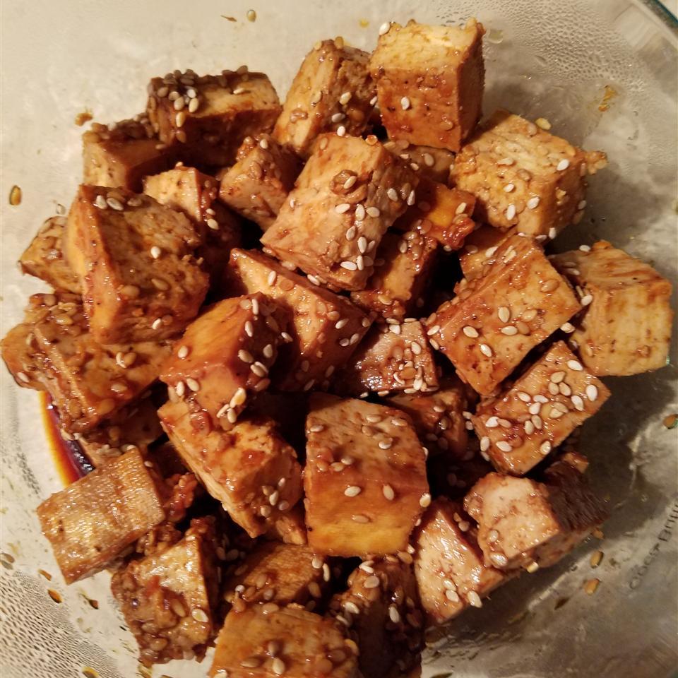 Baked Tofu Bites Mama Jean Jeffreys
