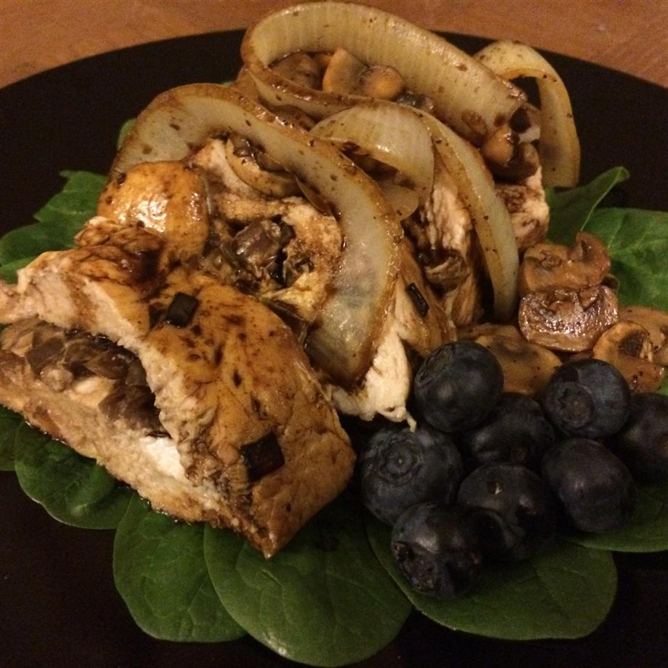 Balsamic Goat Cheese Stuffed Chicken Breasts Kevin Kelm