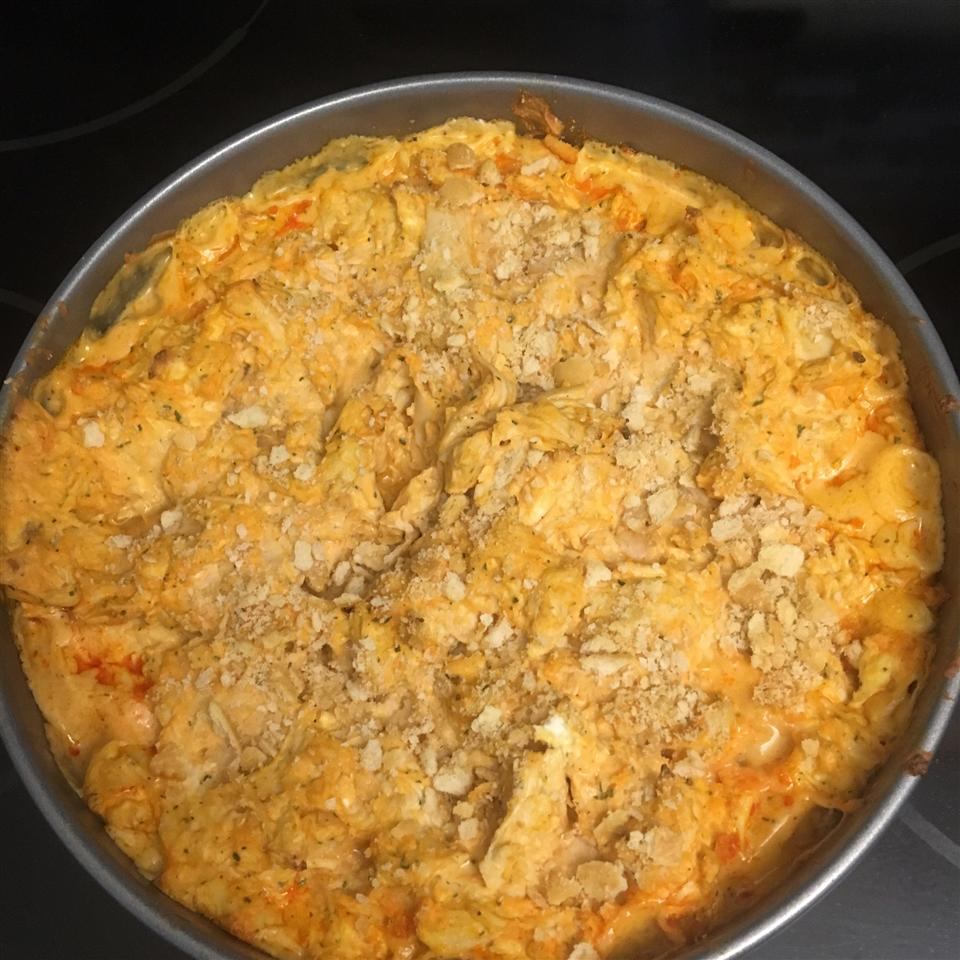 Baked Buffalo Chicken Dip