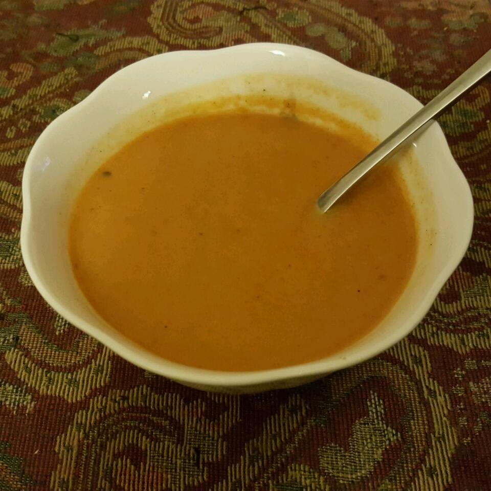 Creamy Carrot With Curry Soup USA WEEKEND columnist Pam Anderson
