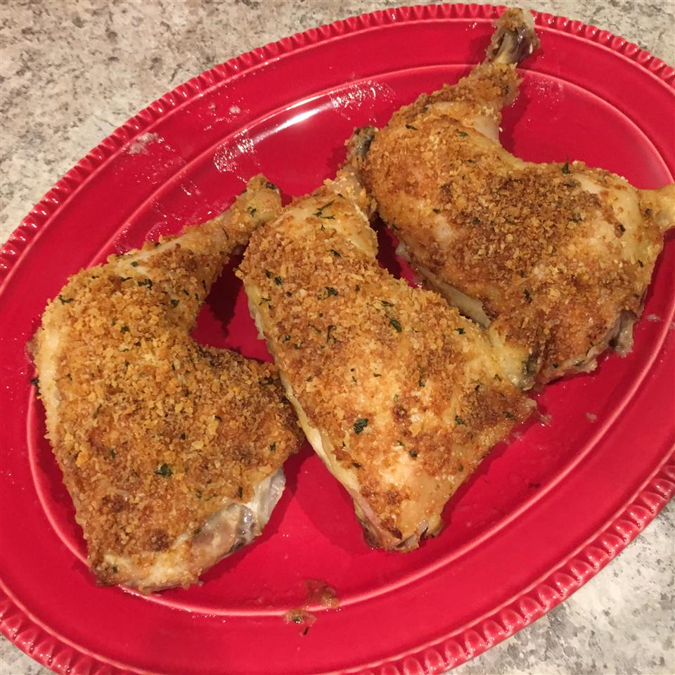 Oven Fried Parmesan Chicken