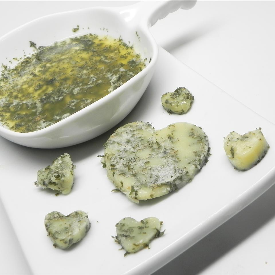 Homemade Herb-Infused Butter christouxphr