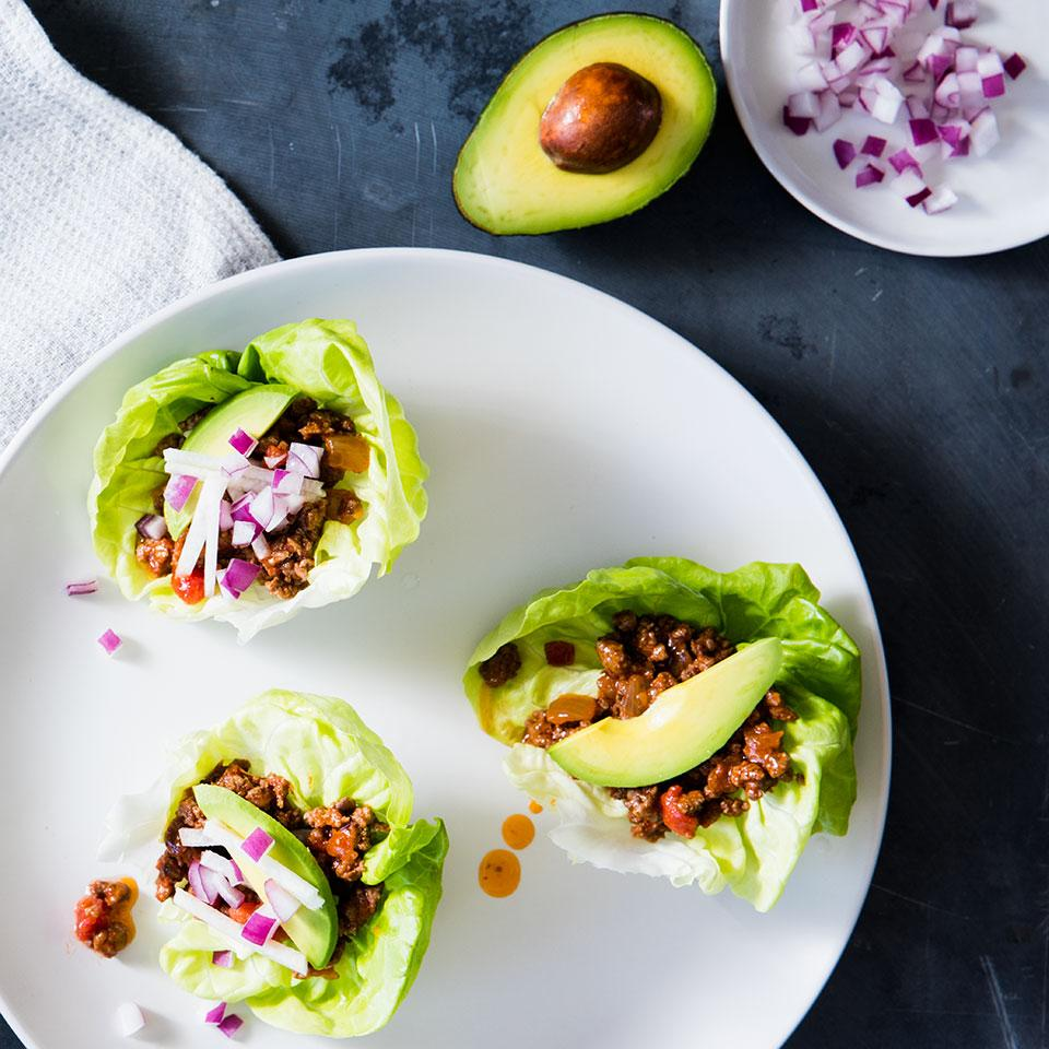 Taco Lettuce Wraps EatingWell Test Kitchen