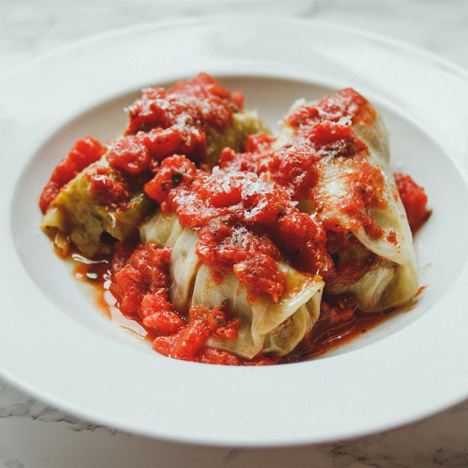 Paleo Stuffed Cabbage