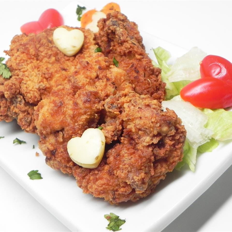 Eggnog Fried Chicken Megan