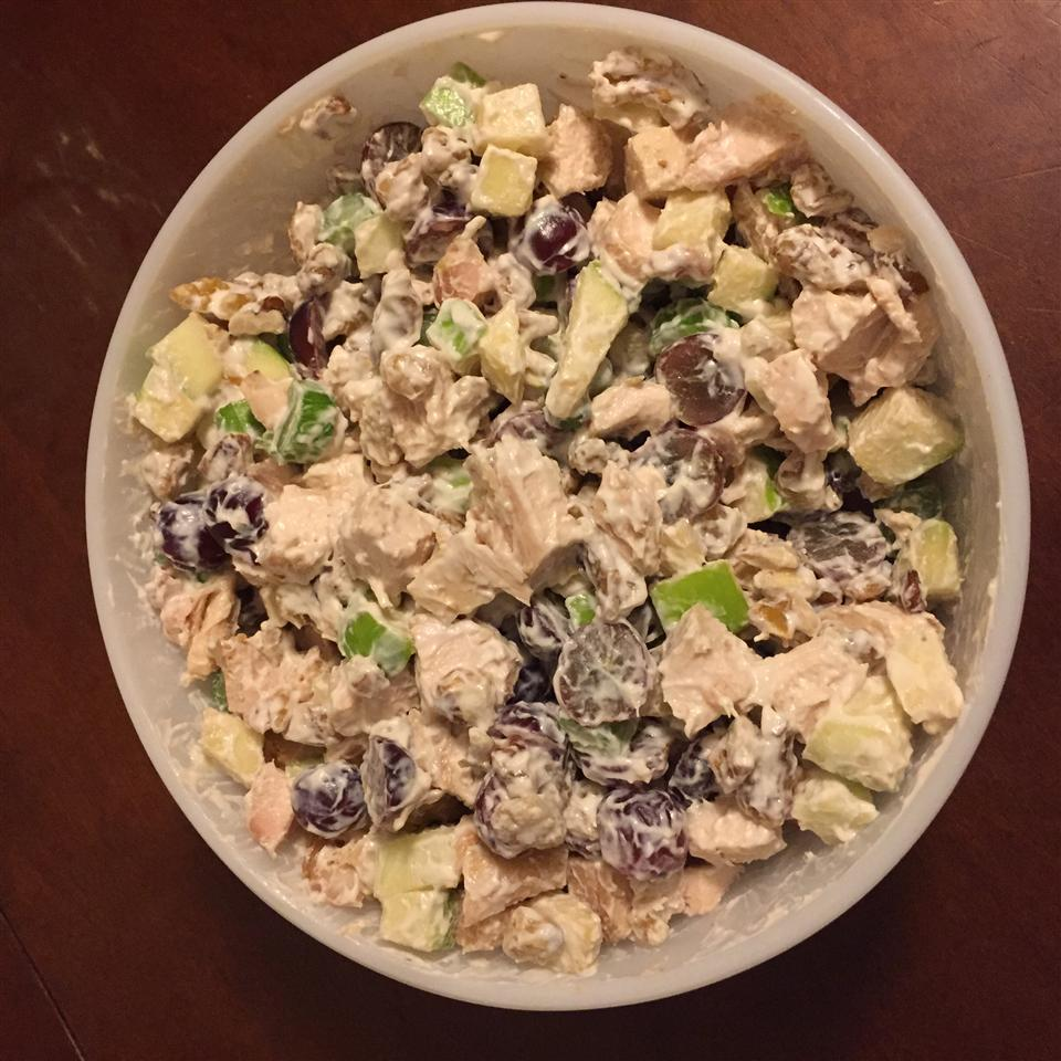 Chicken Salad with Apples, Grapes, and Walnuts amym130