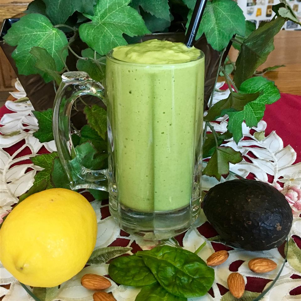 Lemon Spinach Mint Smoothie