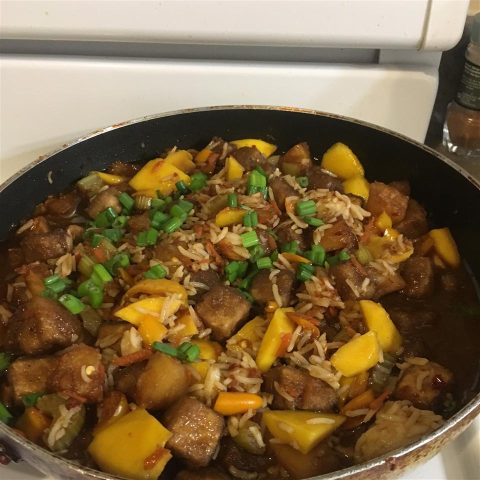 Sesame Asian Tofu Stir-Fry lnos