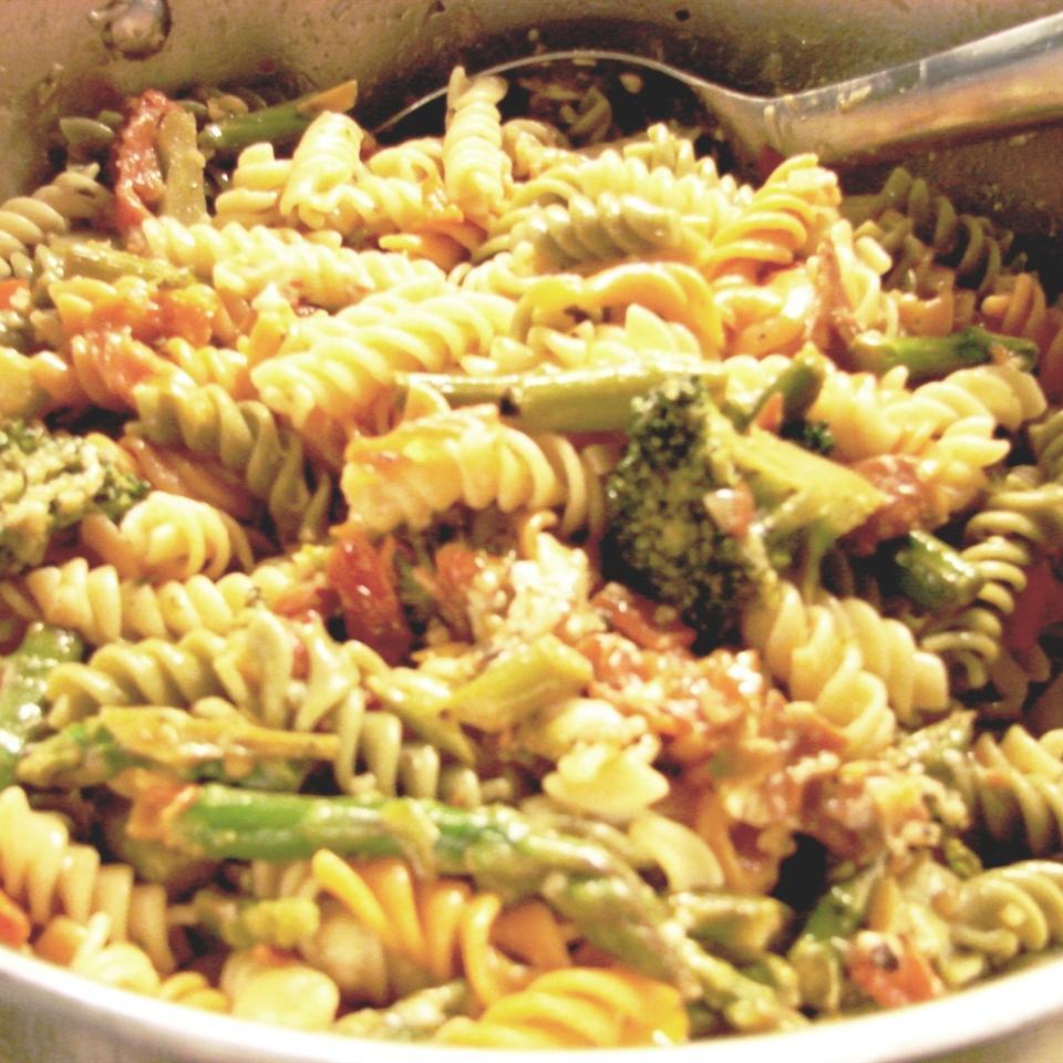 Penne Pasta with Veggies Vicki