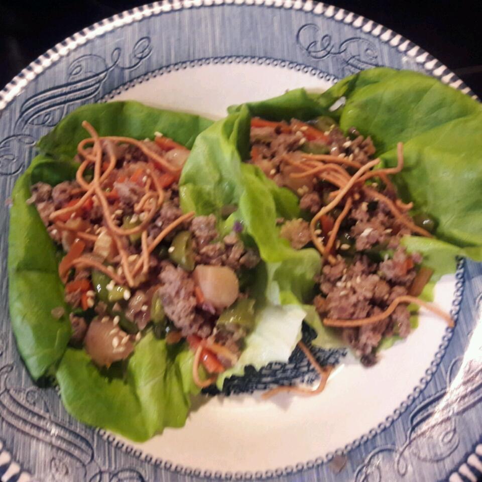 Tantalizing Chicken Lettuce Wraps LisaC