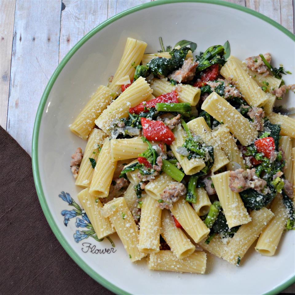 Jan's Cavatelli with Broccoli Rabe