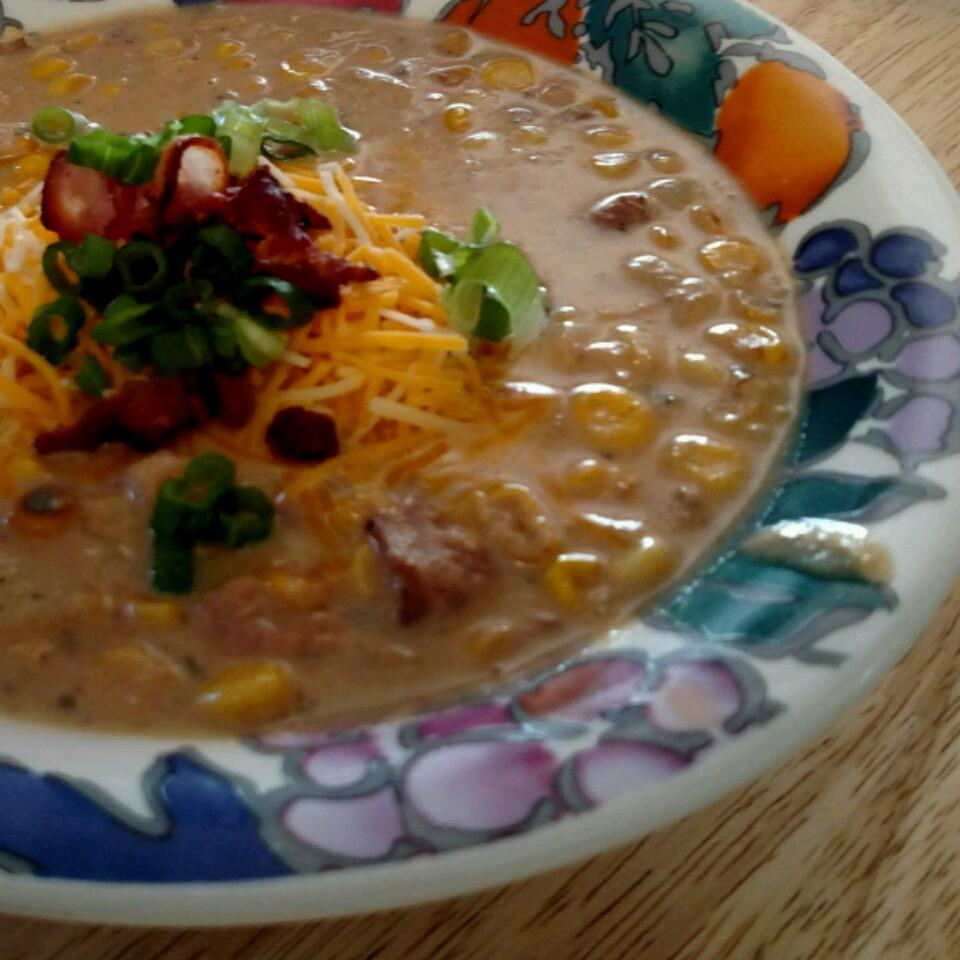 Roasted Corn Chowder Will Bullock