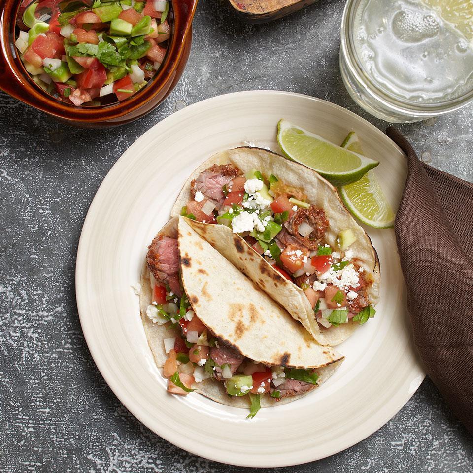 Carne Asada Tacos Carolyn Casner
