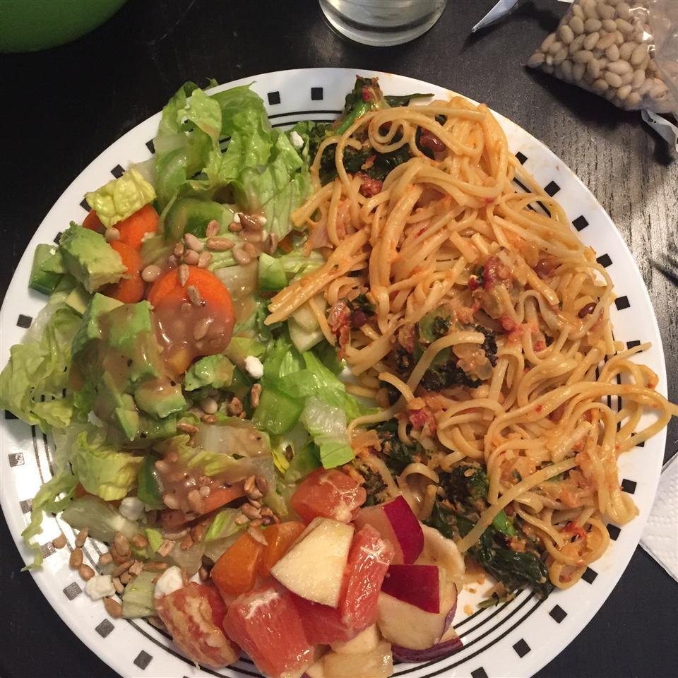 Flash-blasted Broccoli and Feta Pasta Ben Shapiro