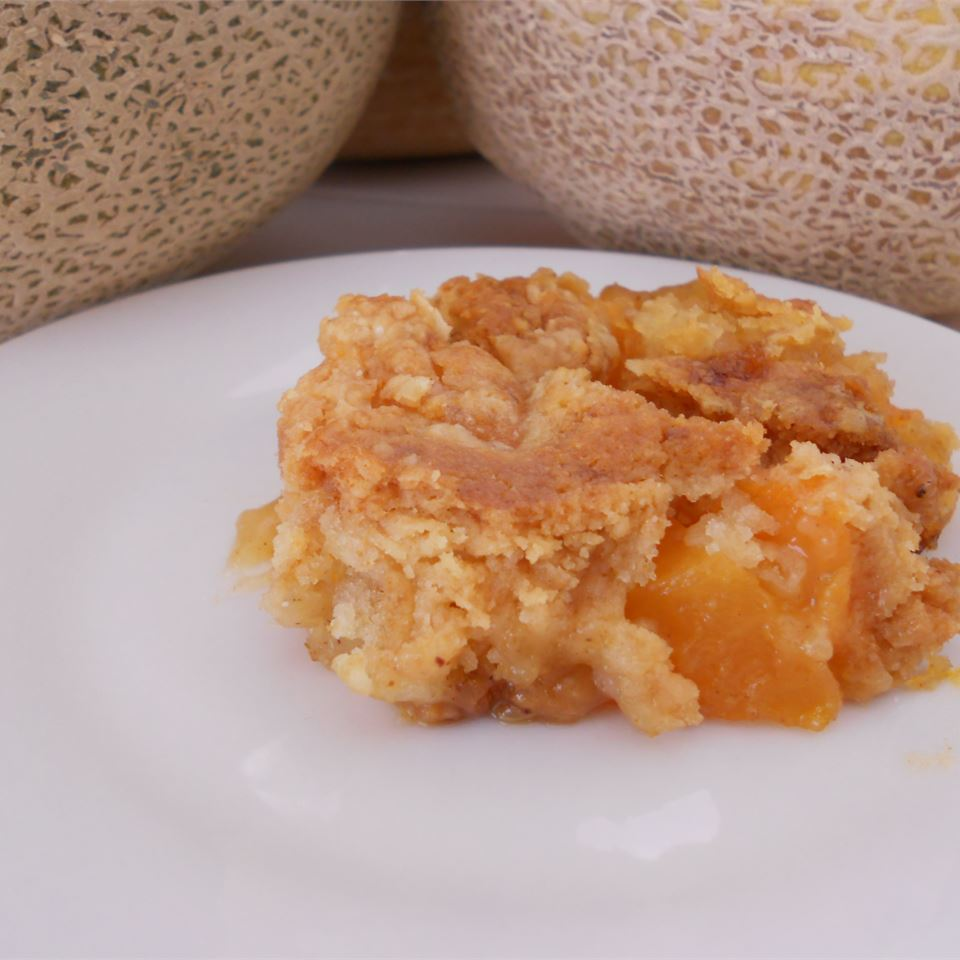 Cantaloupe Crunch Recipe Allrecipes The cantaloupe, rockmelon, sweet melon, or spanspek is a melon that is a variety of the muskmelon species from the family cucurbitaceae. cantaloupe crunch