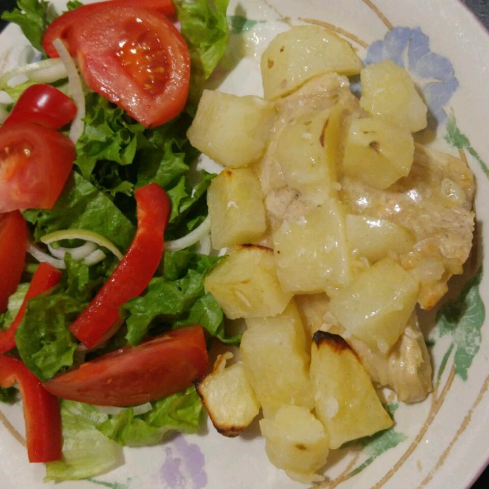 Lebanese Chicken and Potatoes Nicole