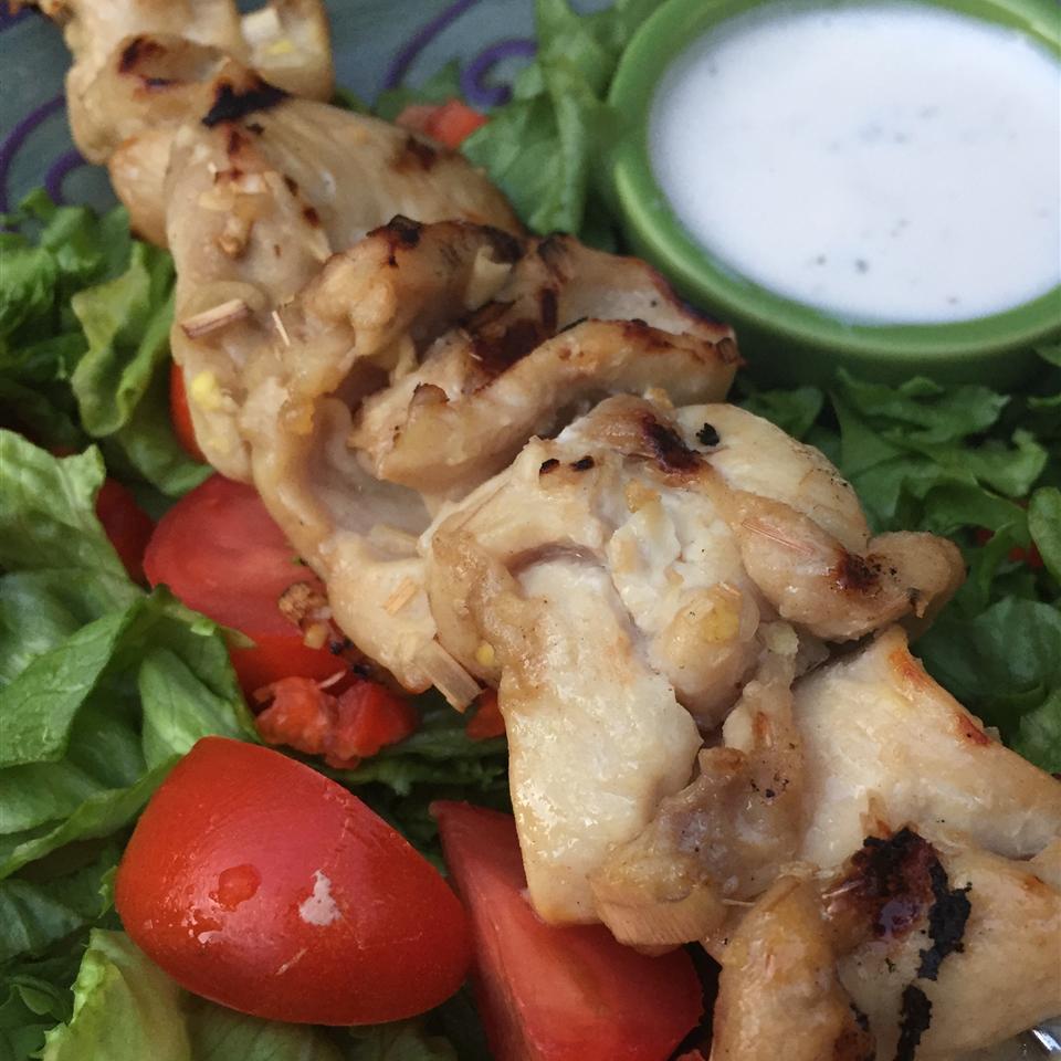 Grilled Lemongrass Chicken Frankie