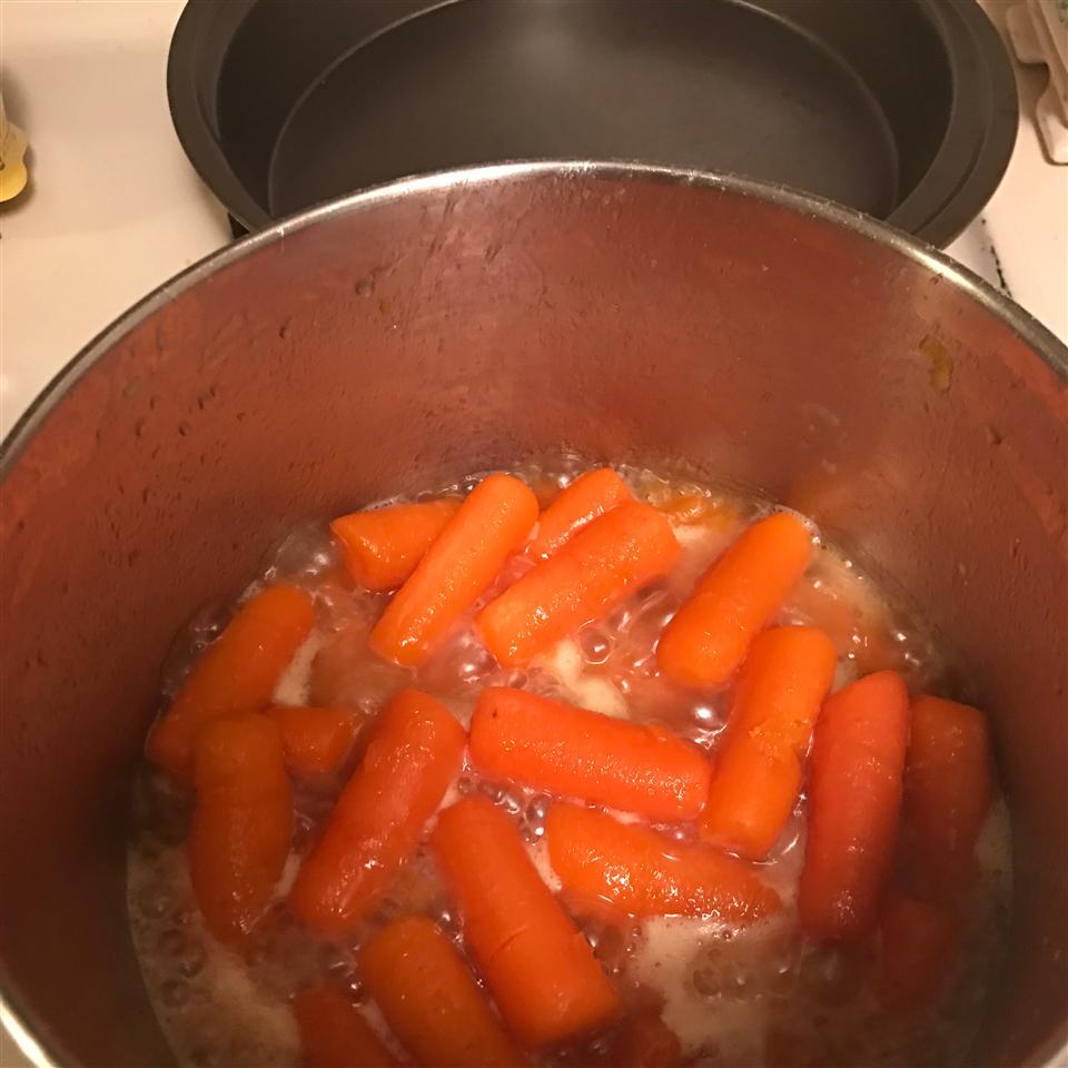 Lemon Honey Glazed Carrots