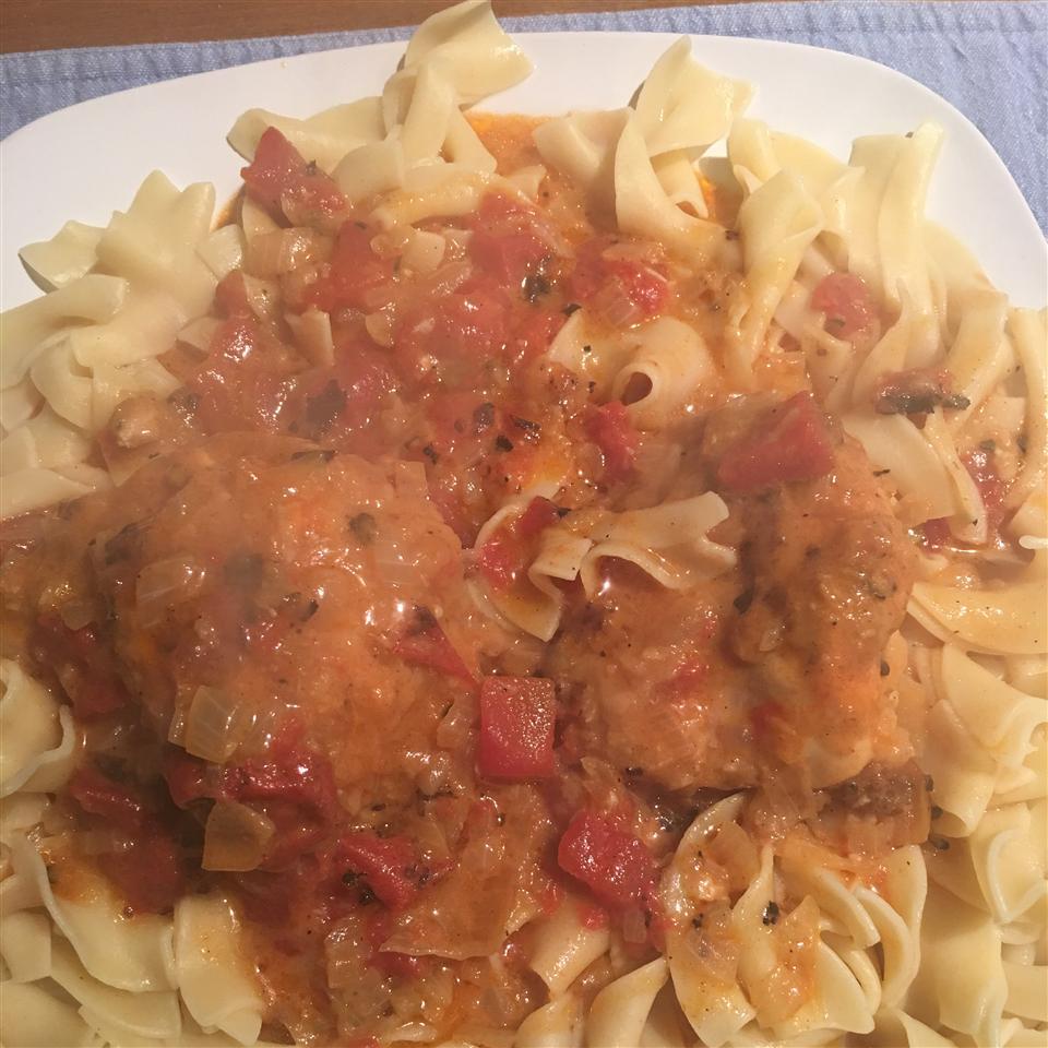 Chicken Paprika Annette