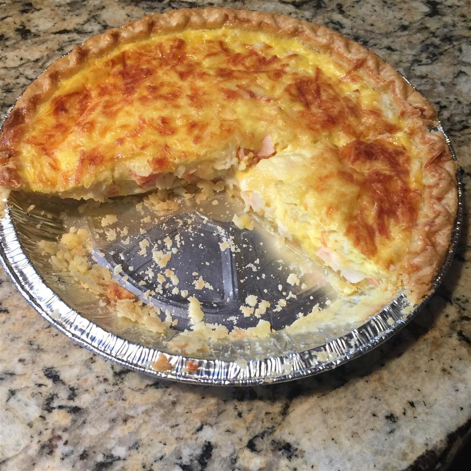 Crabmeat Quiche Alex