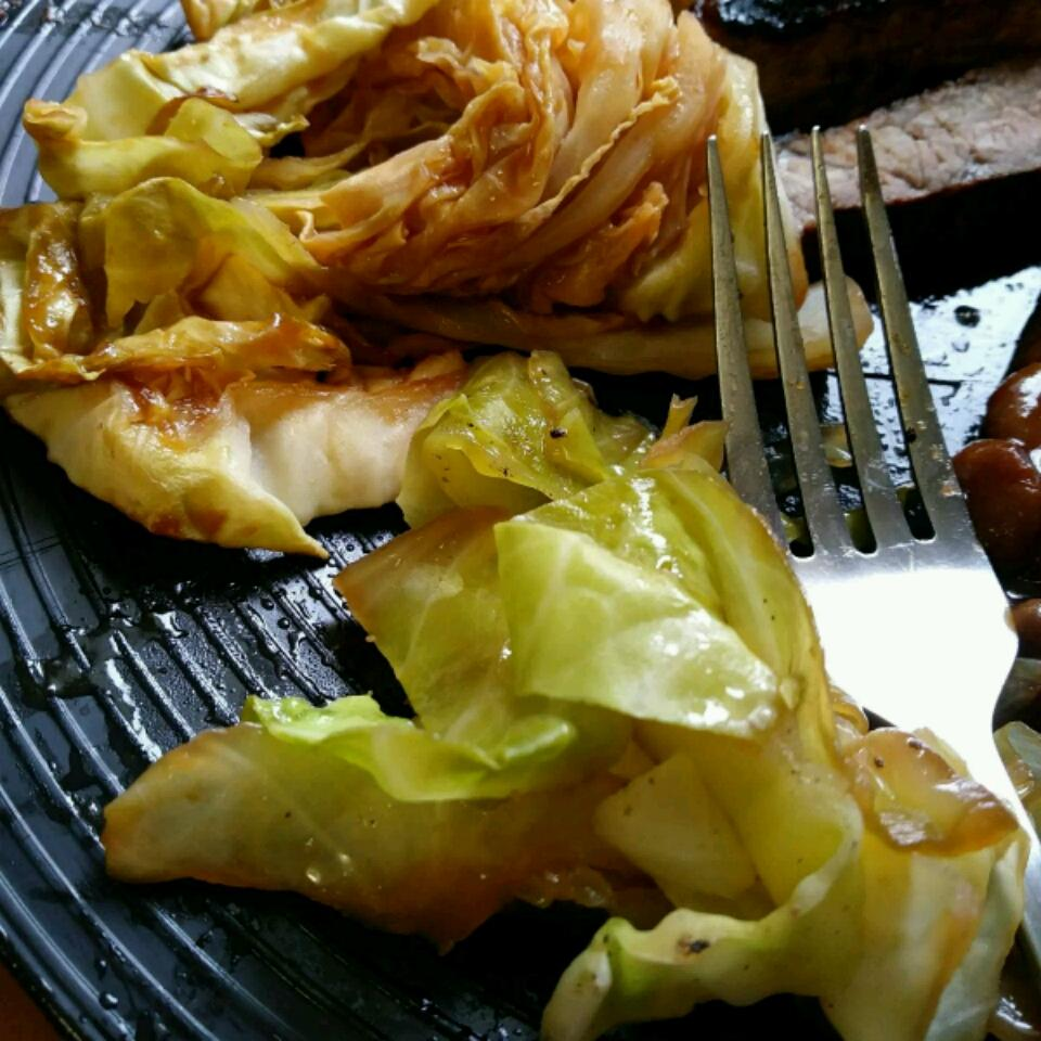 Barbequed Cabbage Andrea