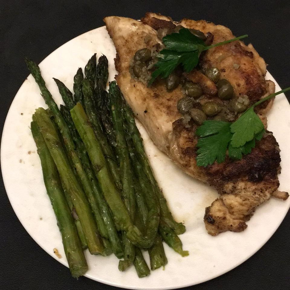 Chicken Piccata with Capers Andrew