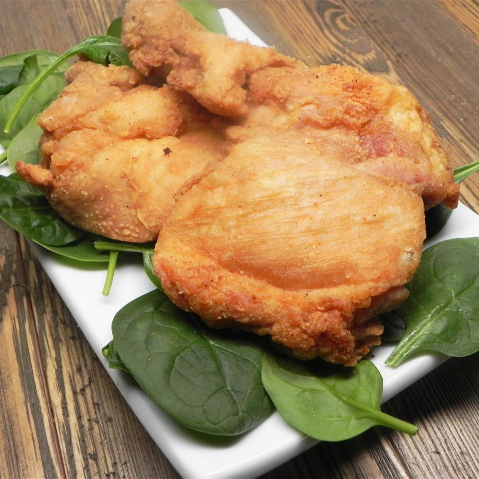 Easy Skinless Fried Chicken Thighs Recipe