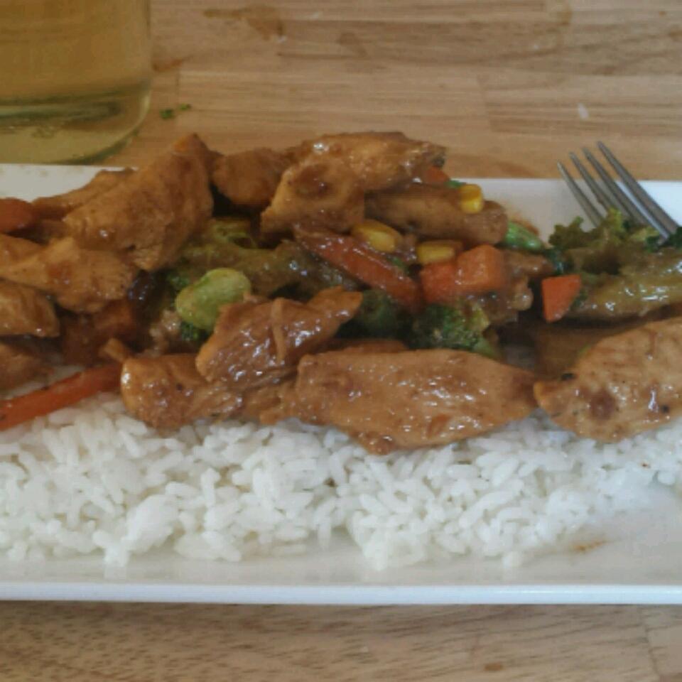 Stir-Fry Chicken and Broccoli