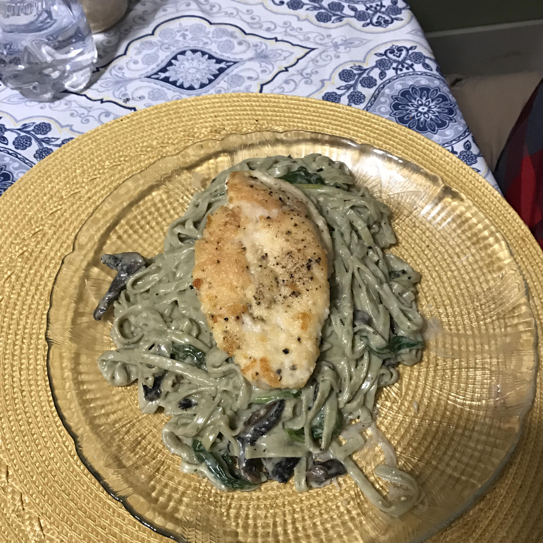 Asiago Chicken Pasta Beverly Steiner Hoppe