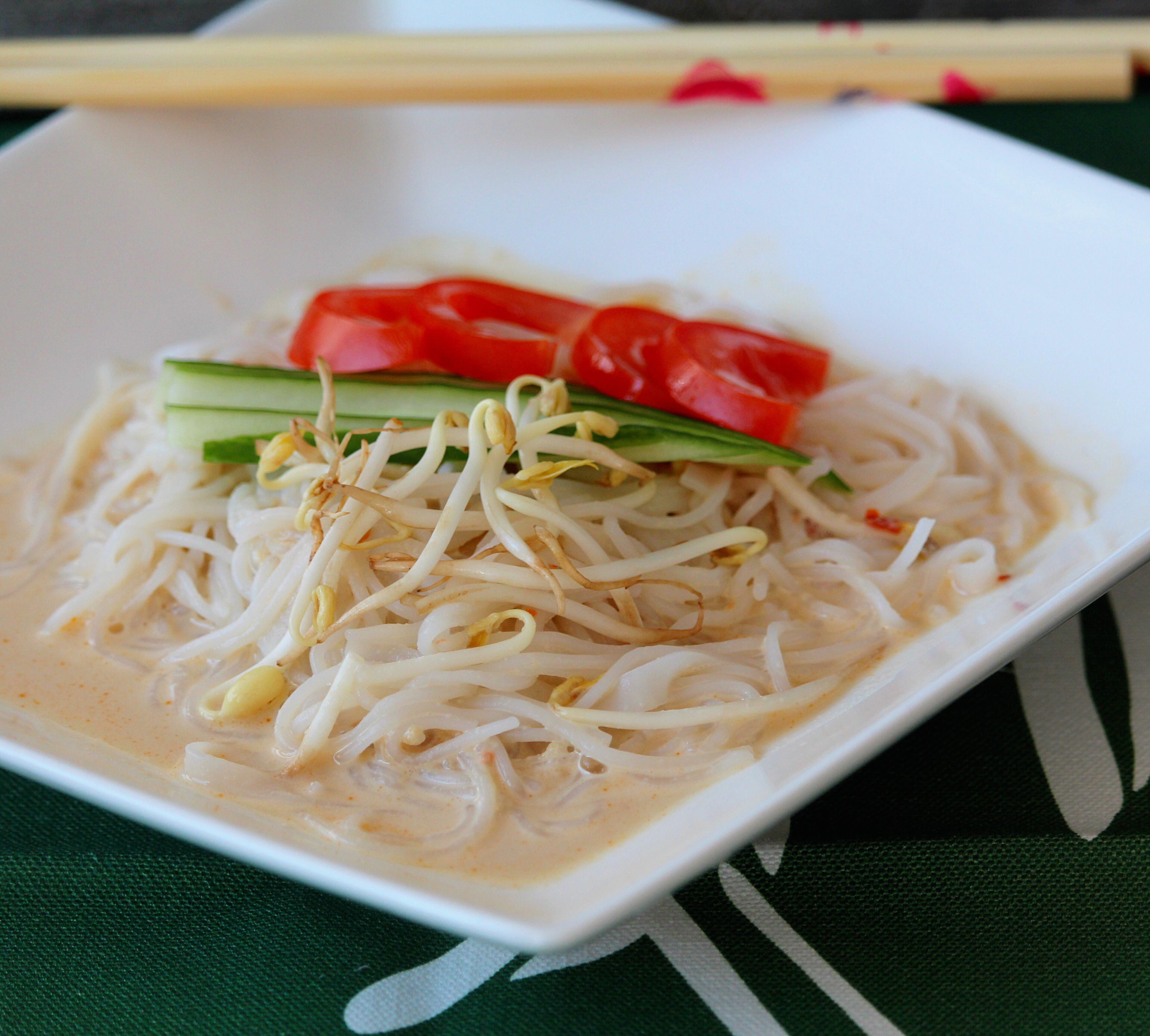 Korean Soybean Noodles (Kong Kook Su)
