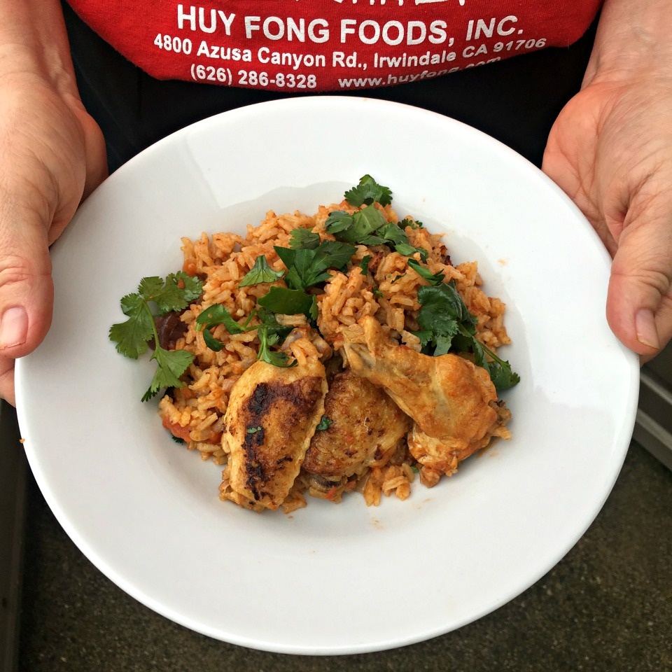 Chicken and Rice with Cumin and Cilantro