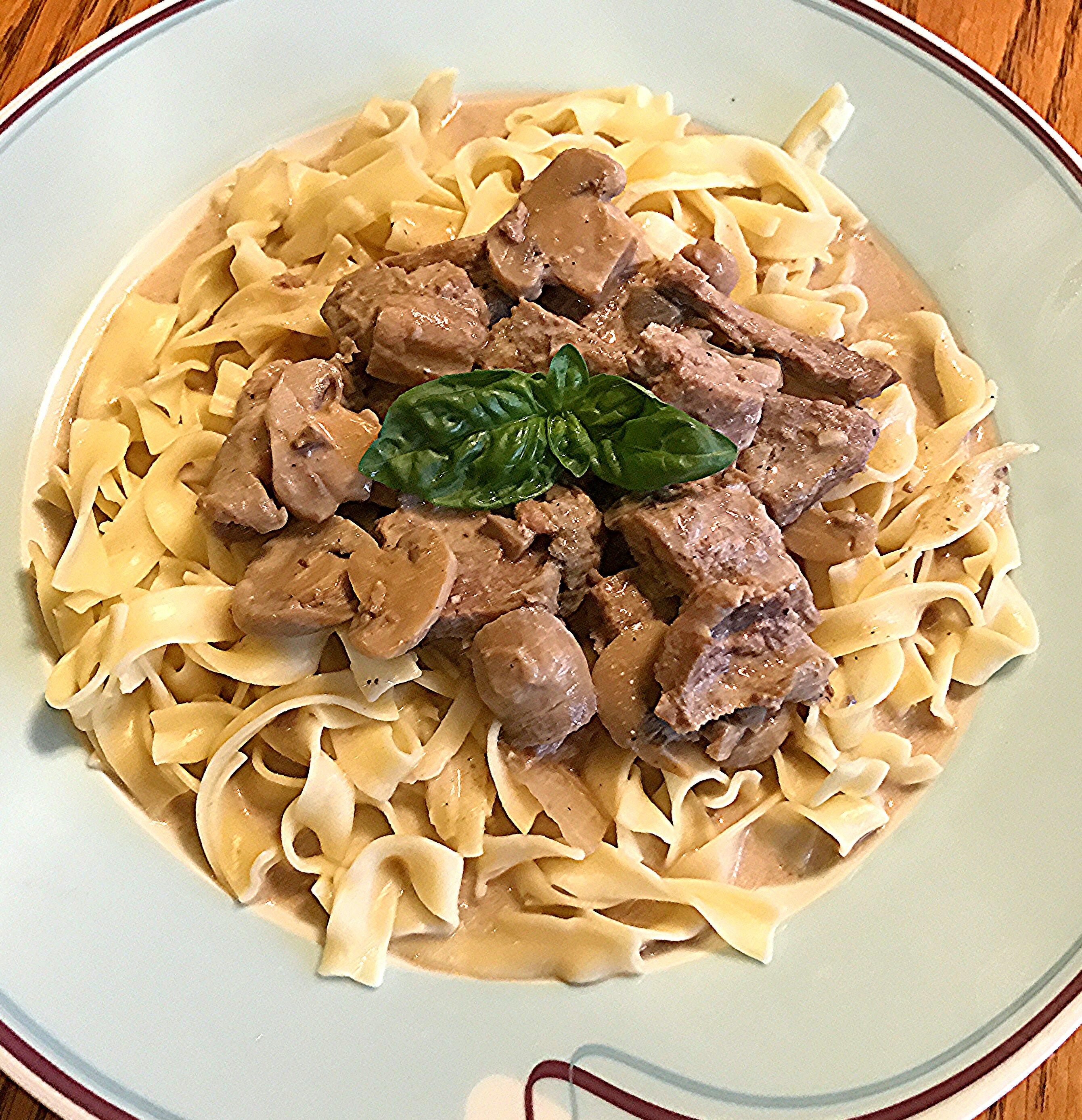 Susan's Beef Stroganoff