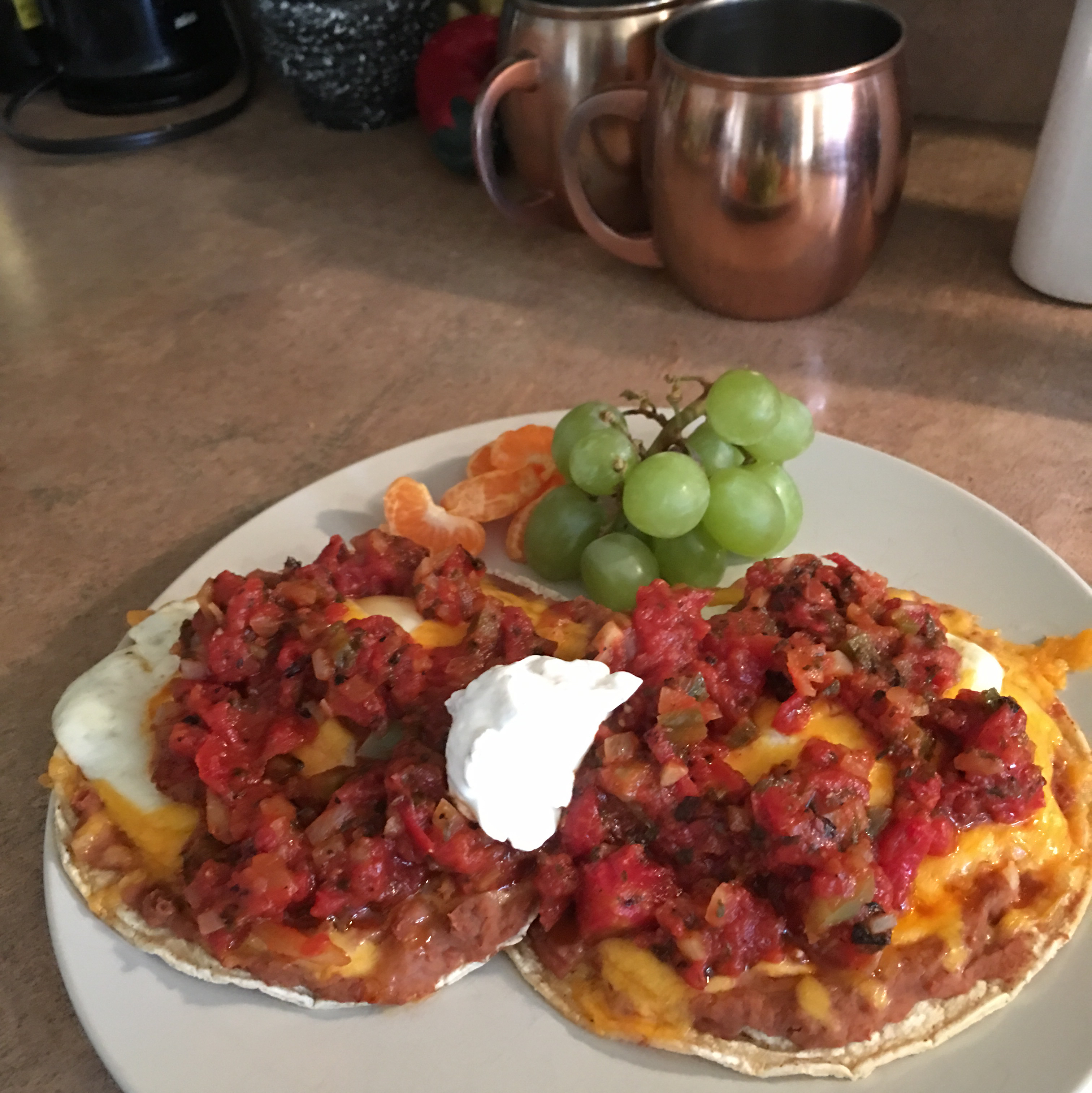 Quick and Easy Huevos Rancheros