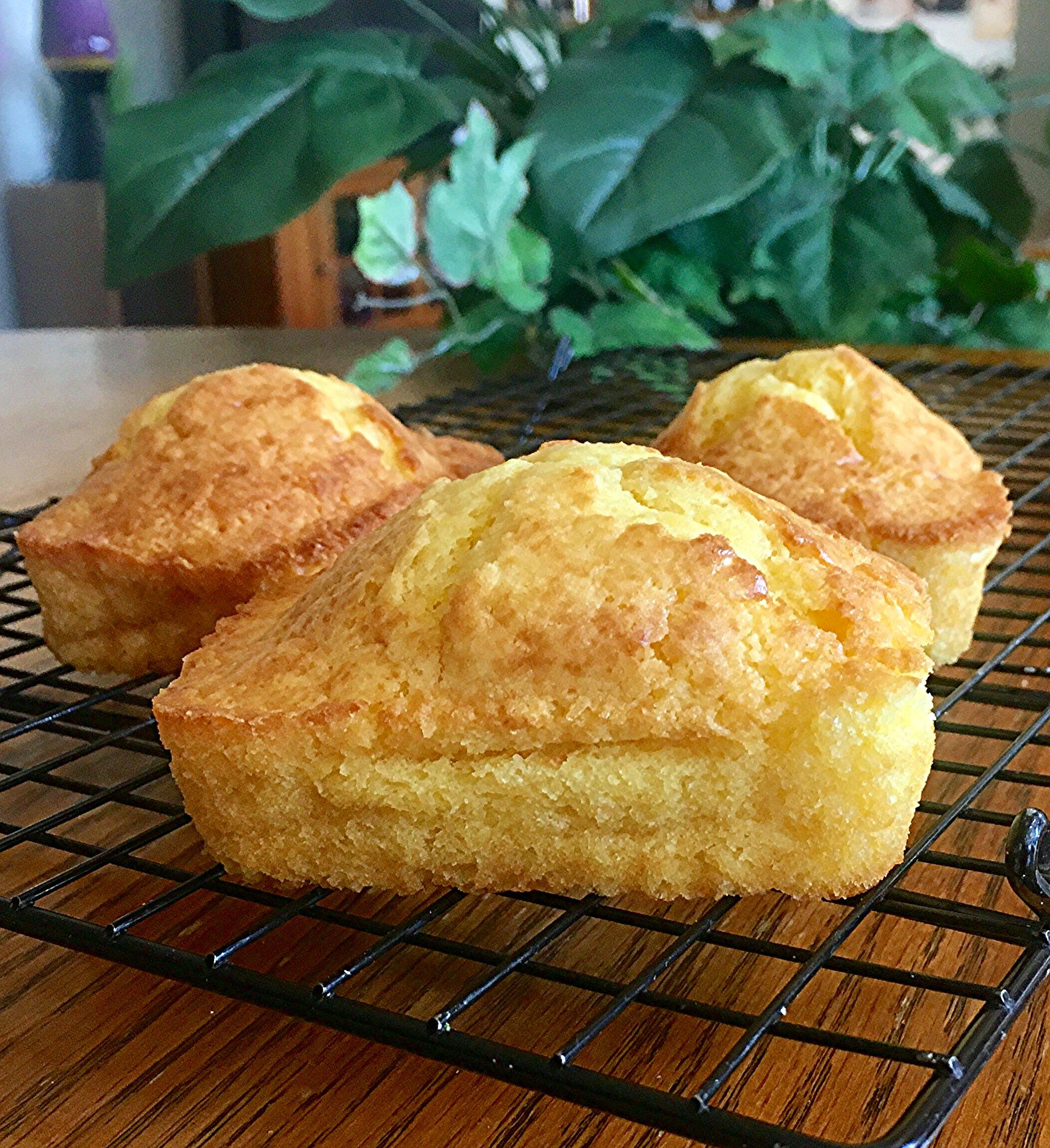 Pan de Elote Facil (Easy Corn Bread)
