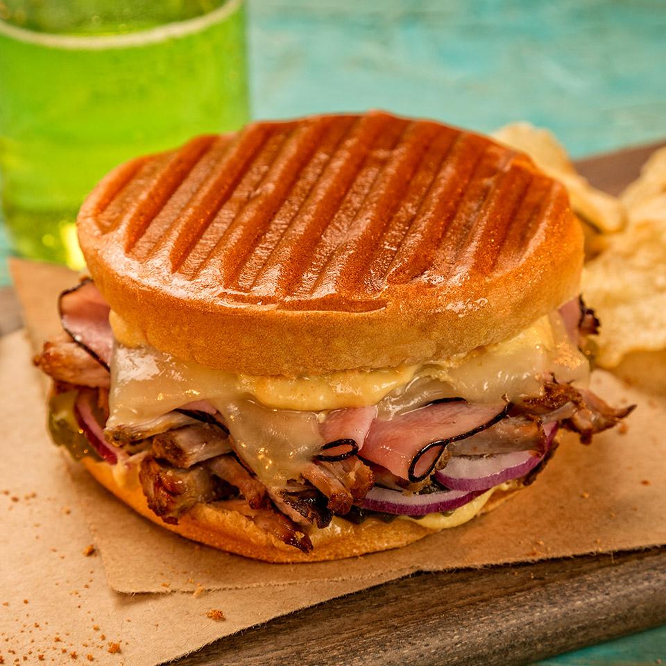 Grilled Cuban Bunini Sandwich image