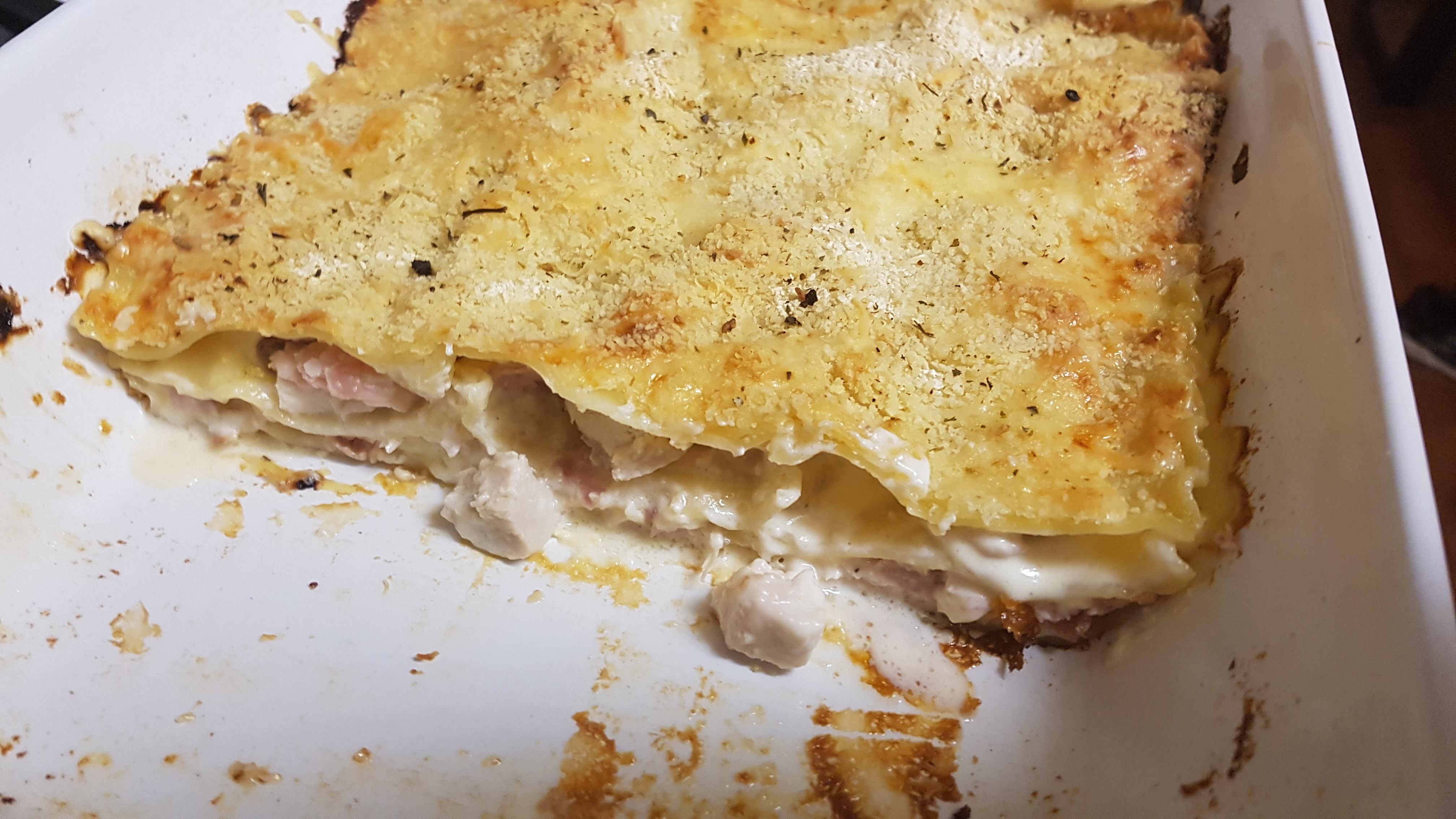 Chicken Cordon Bleu Lasagna KassandraDD