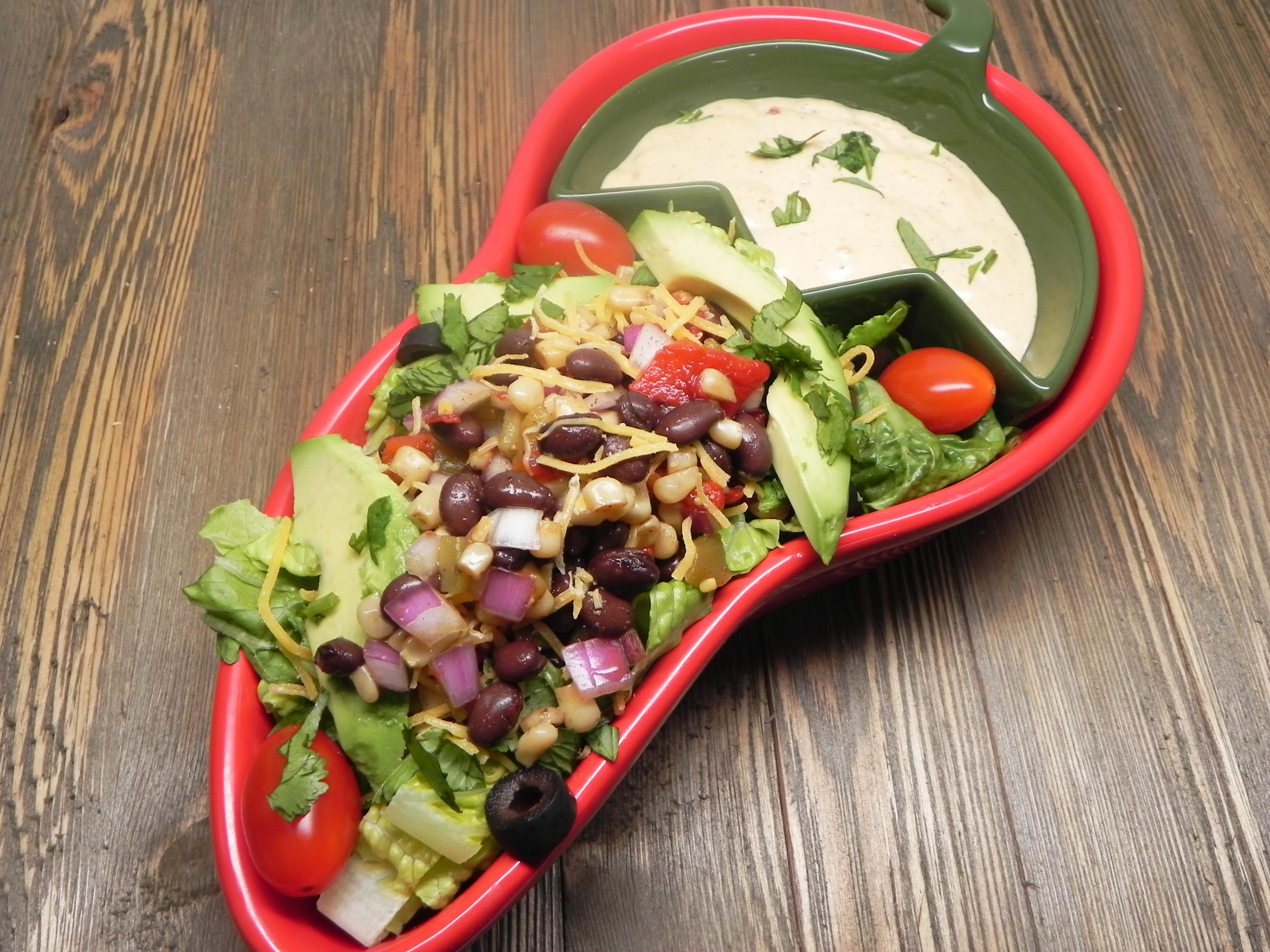 Southwest Layered Salad
