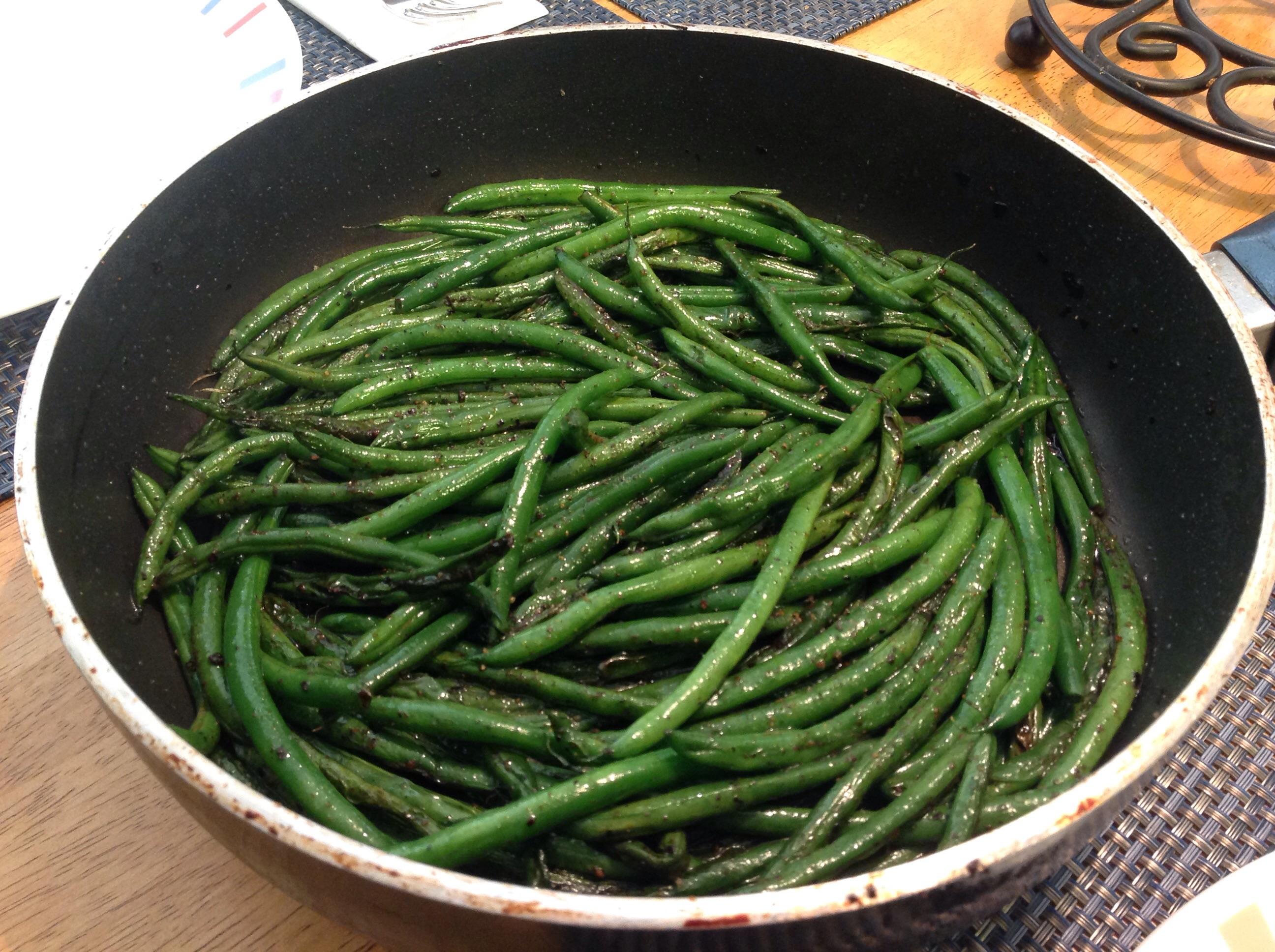 Pan Fried Green Beans_image