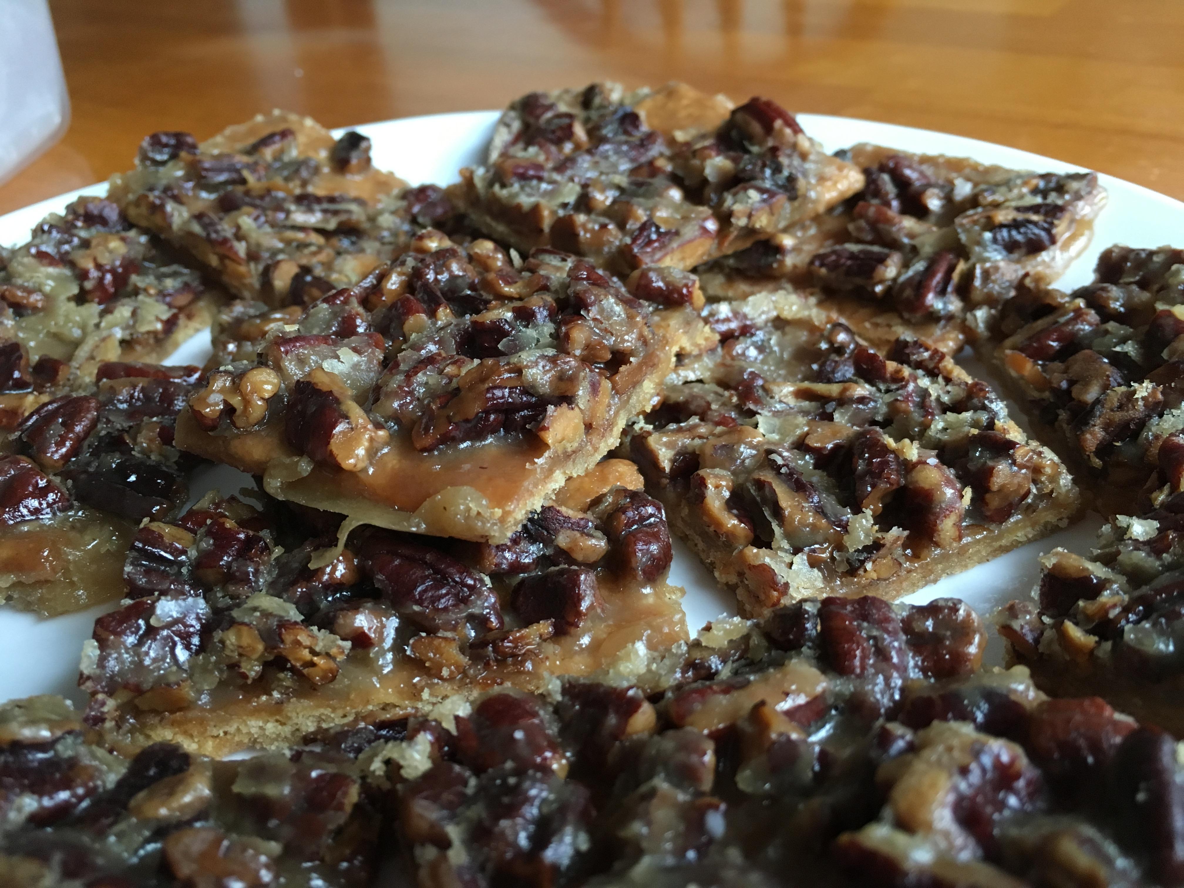Mary's Salted Caramel-Pecan Bars