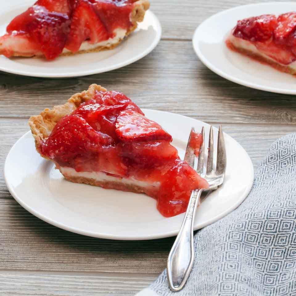 Fresh Strawberry Pie Devon O'Brien