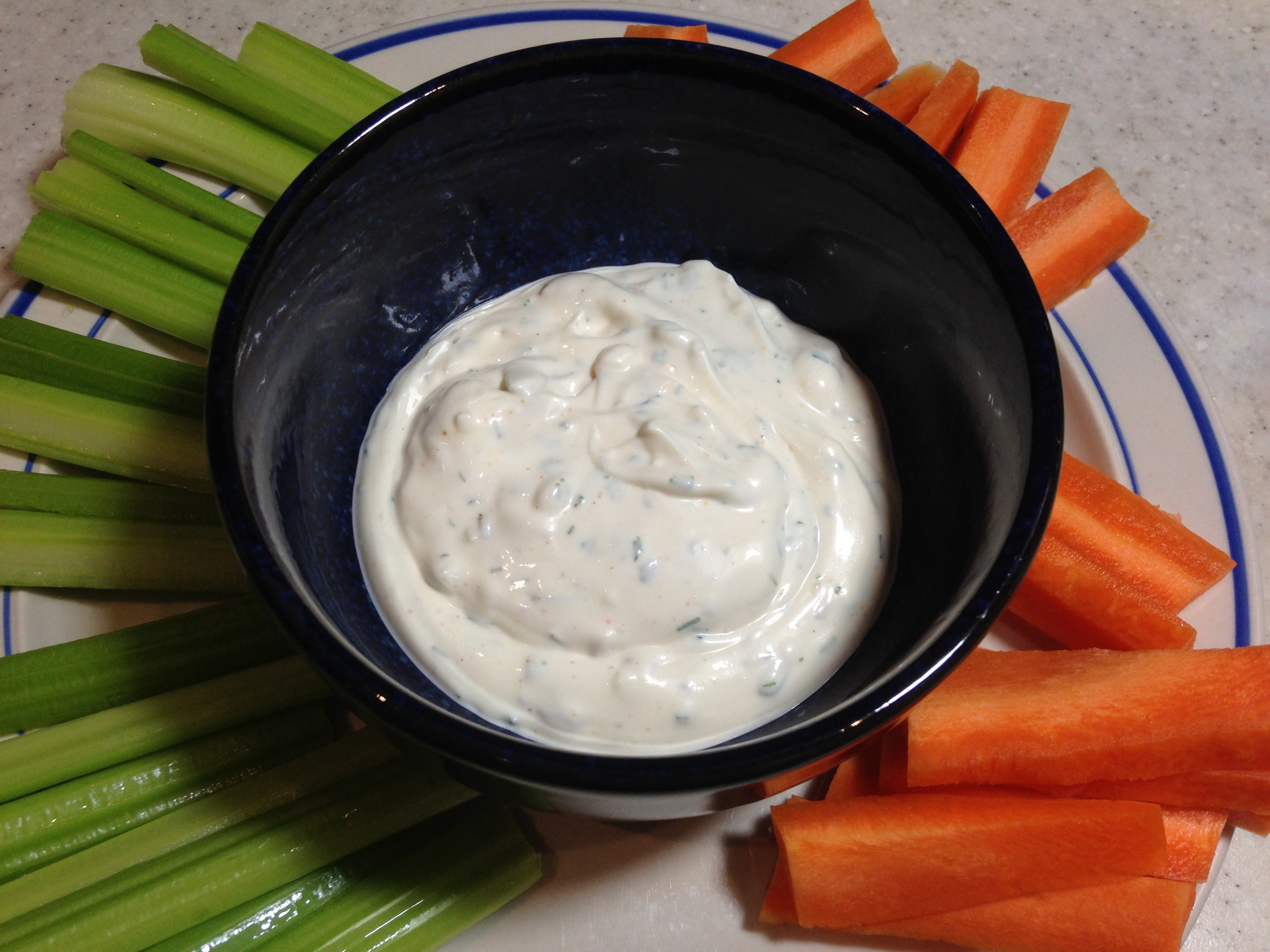 Mom's Famous Raw Vegetable Dip image