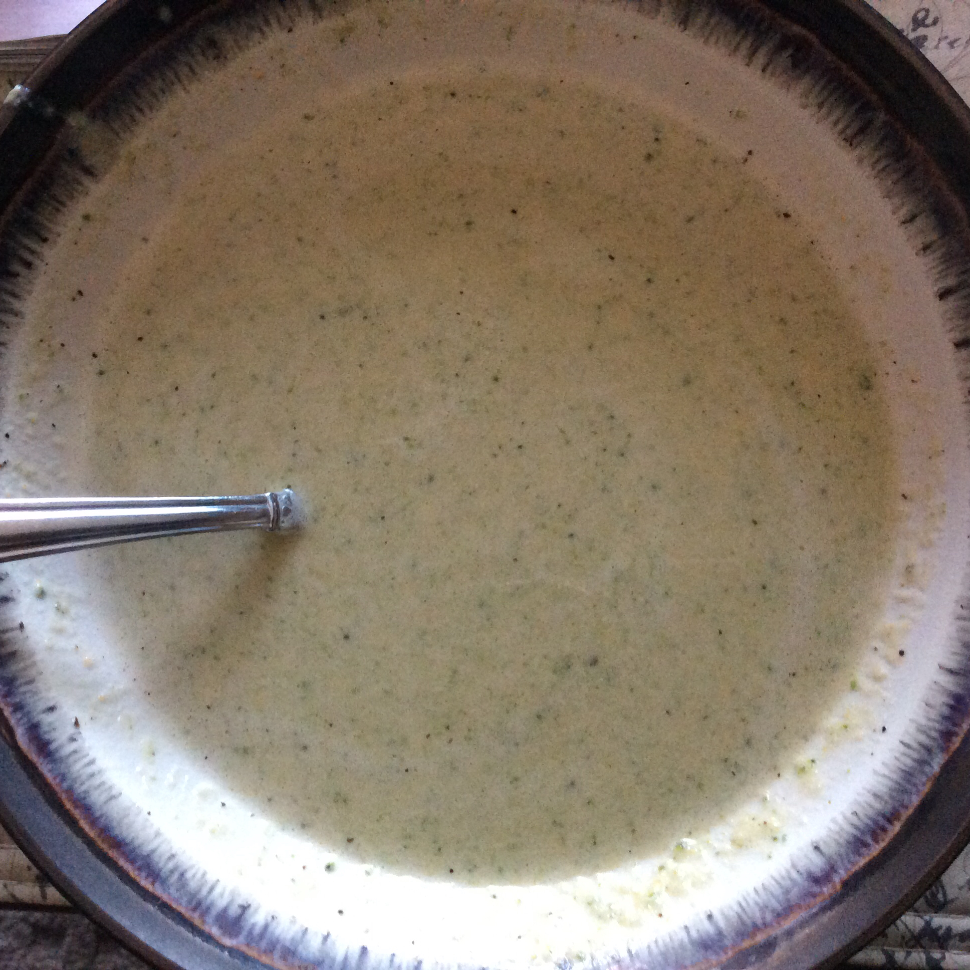 Irresistible Broccoli Cheese Soup kdub