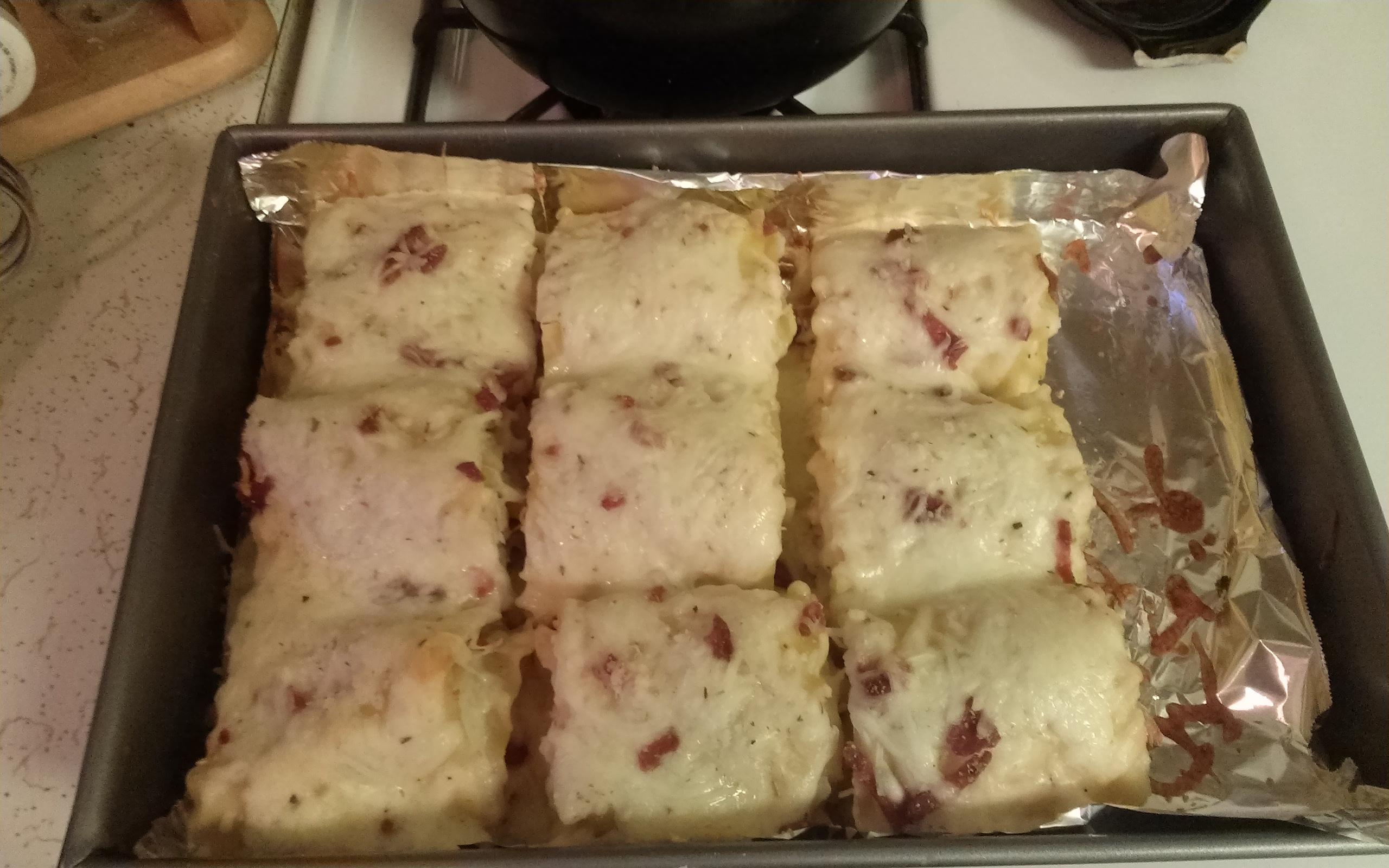 Alfredo Chicken Lasagna Rolls Zina Bani
