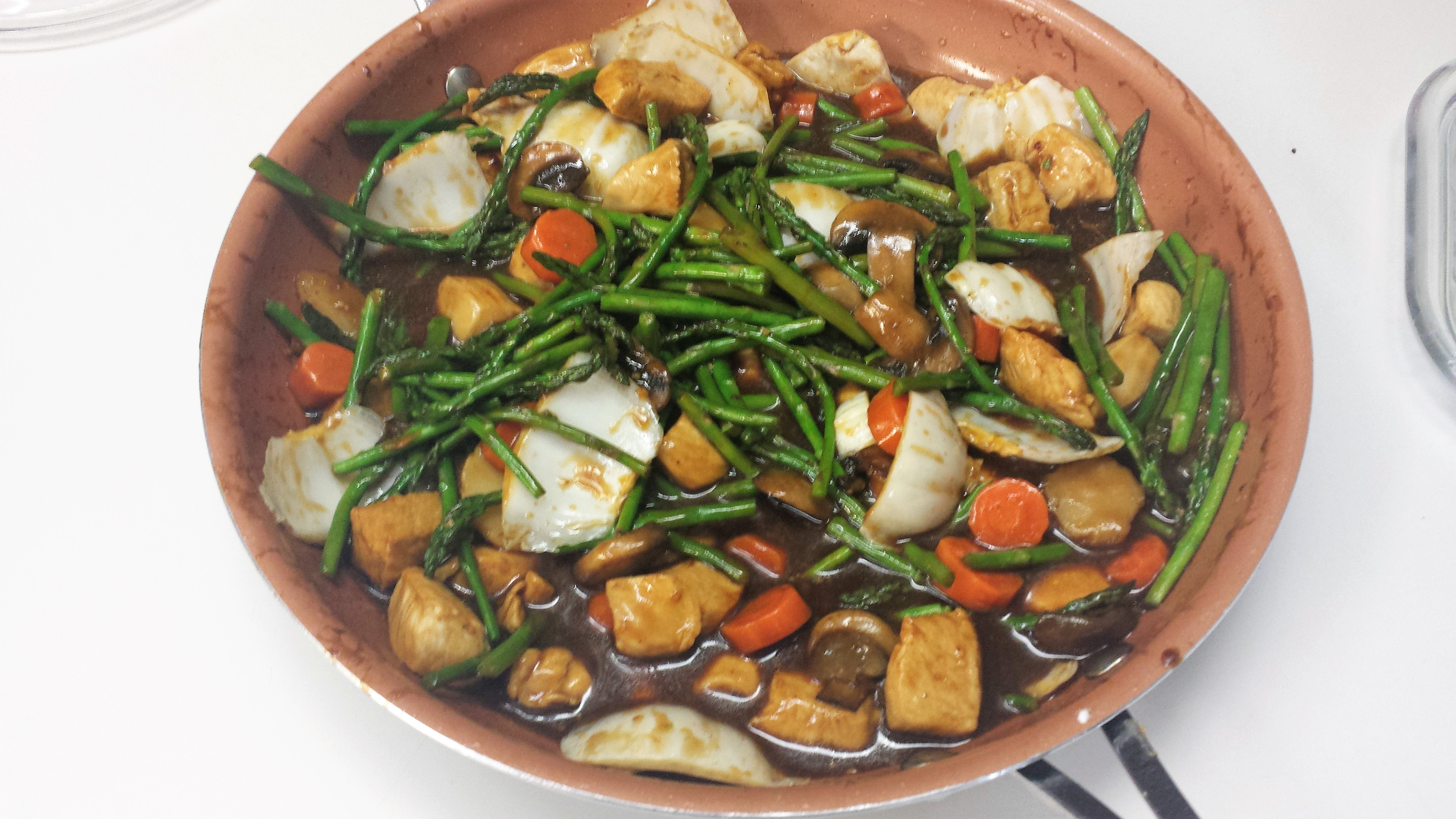 Wild Rice and Asparagus Chicken Breasts James