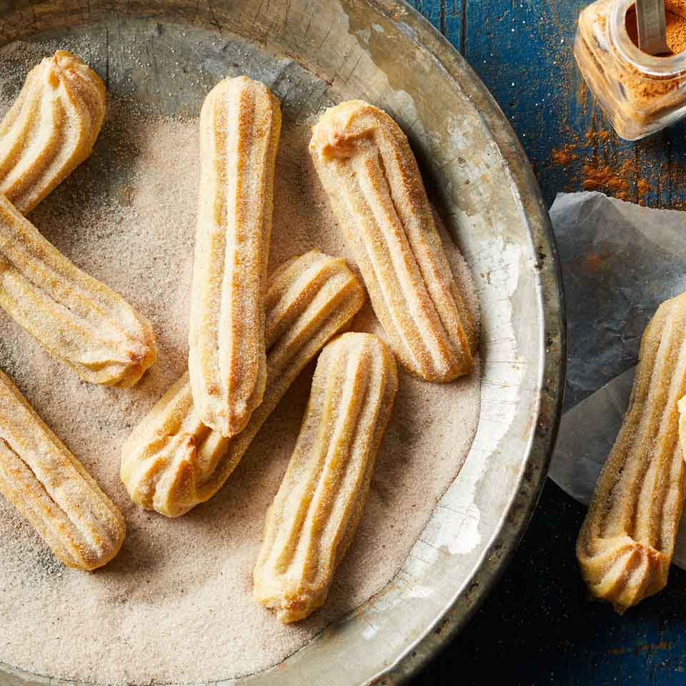Baked Churros Recipe Eatingwell