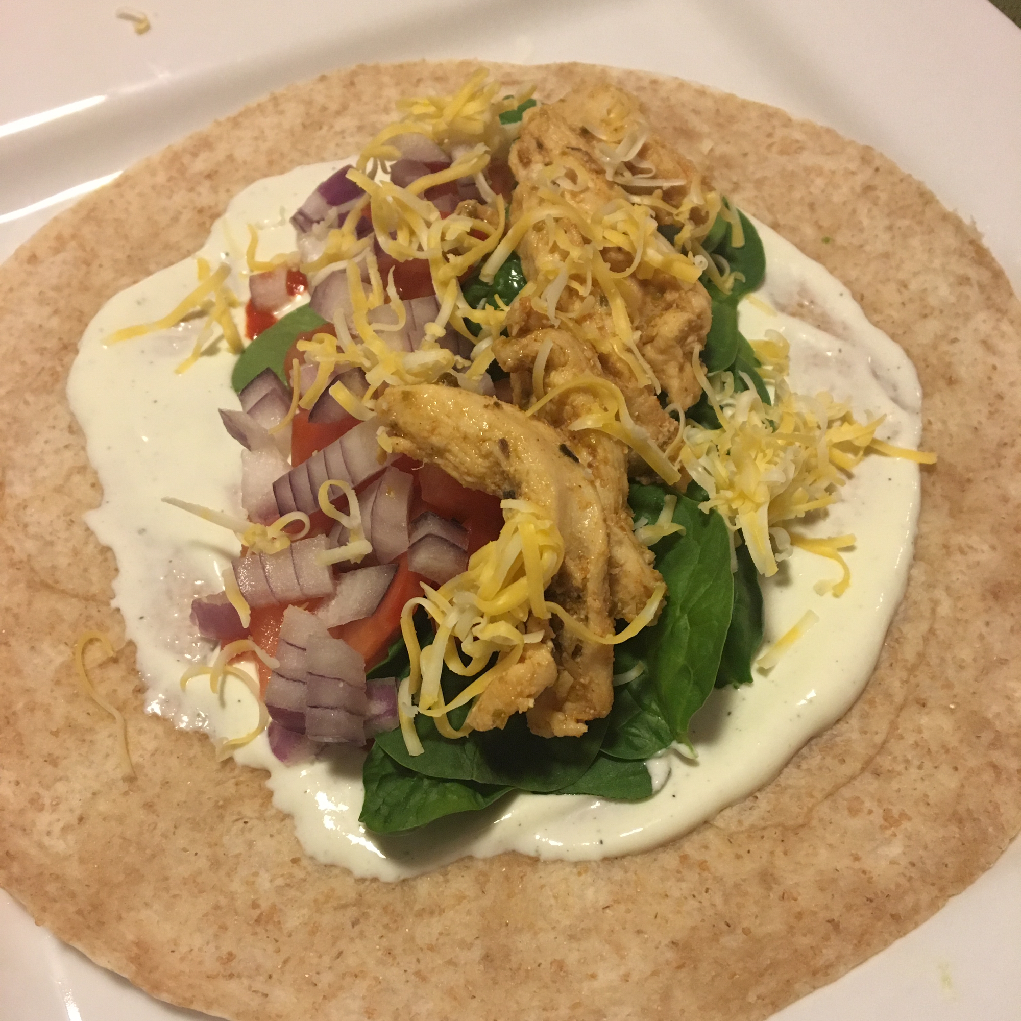 Easy Chicken Gyro jhennCruz