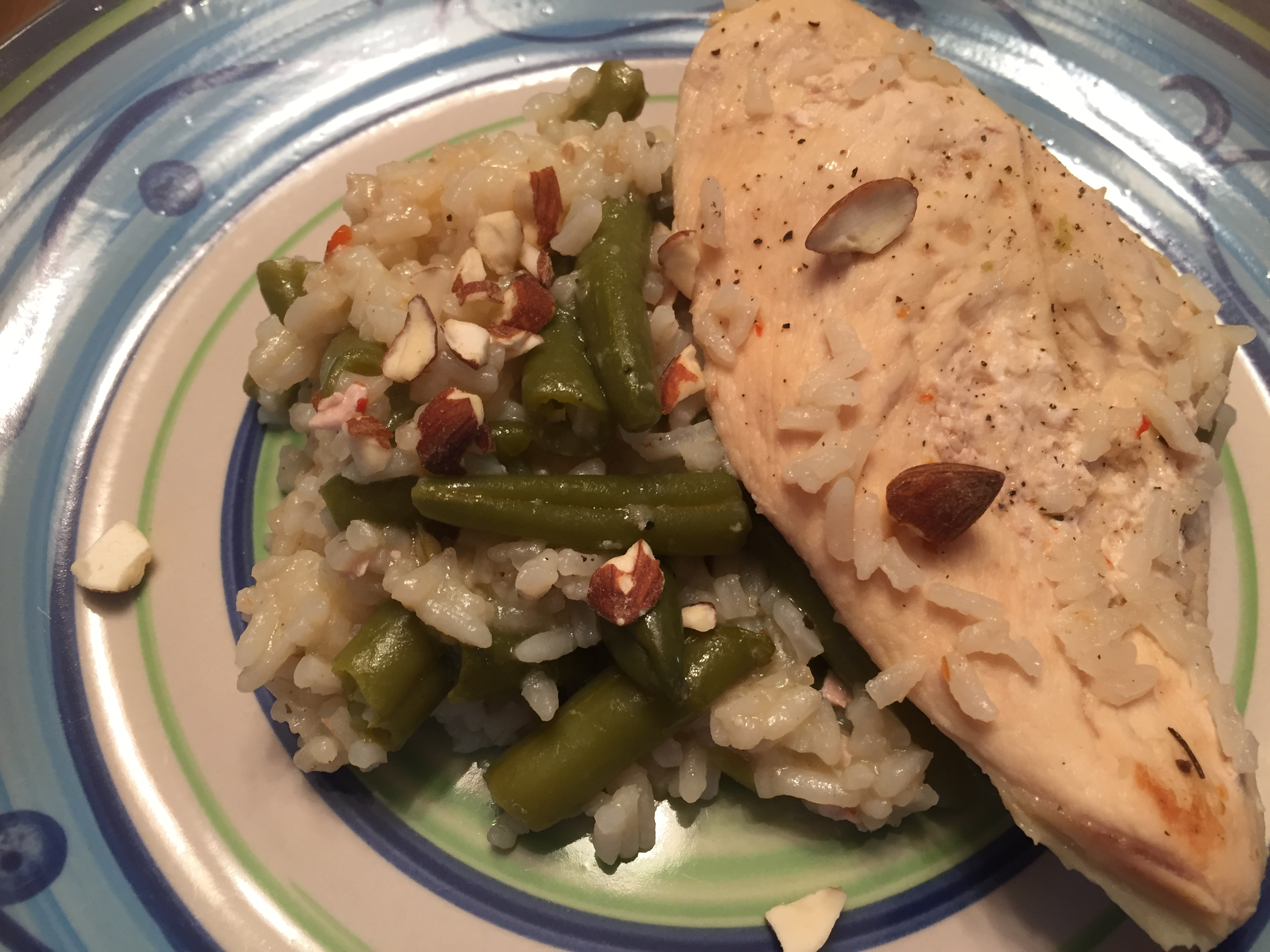 30 Minute Almond Chicken by Minute(R) Rice